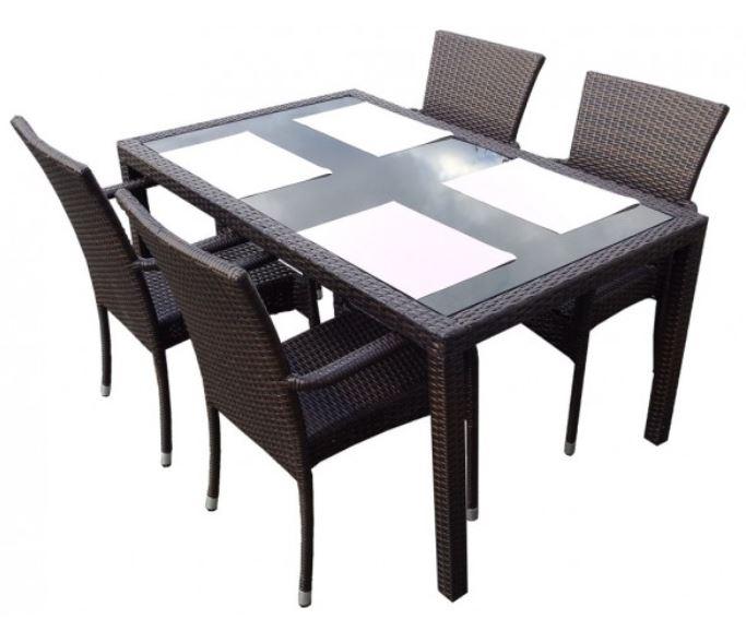 Emejing table de jardin resine tressee discount ideas for Table chaise jardin resine tressee pas cher